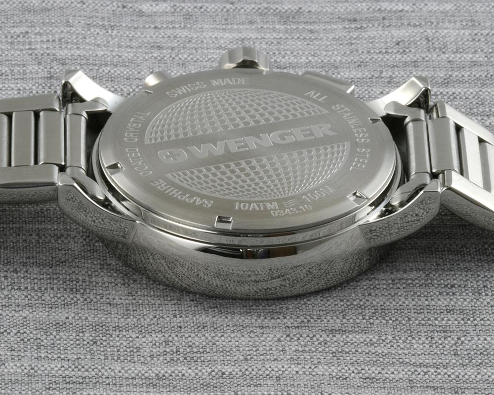 e59cd11b755 Wenger Attitude Chrono 01.0343.105 - Švýcarské hodinky - Pánské ...