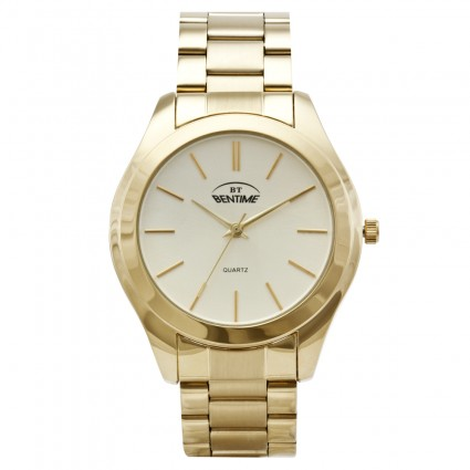 8b00cc3d141 Bentime 005-15536A - Zlaté hodinky - Dámské hodinky - Hodinky