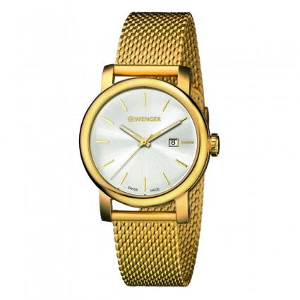 3a4106b1e Wenger Urban Vintage 01.1021.118 - Zlaté hodinky - Dámské hodinky ...