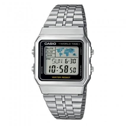 93ab0395fab Casio Retro A 500WEA-1 - Digitální hodinky - Pánské hodinky ...