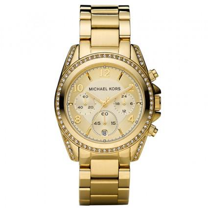 ef2998475 Michael Kors MK5166 - Zlaté hodinky - Dámské hodinky - Hodinky   TOP ...