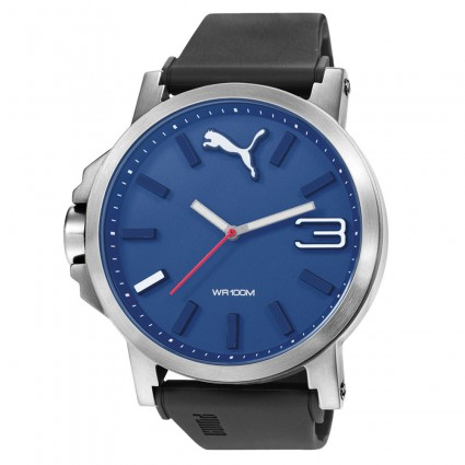ea36f121c Puma Ultrasize Silver Blue PU103461014. krabička Puma; garance původu  hodinek