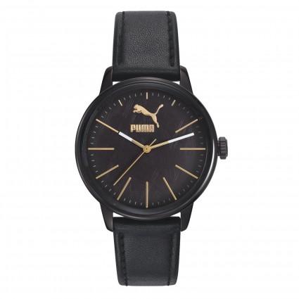 773f5dde6 Puma Black Leather PU104292002 - Klasické hodinky - Dámské hodinky ...
