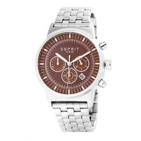 Esprit es-woodward silver brown ES106851005