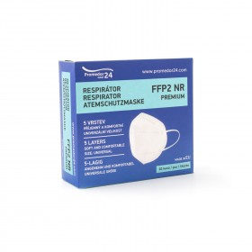 Respirátor FFP2 PREMIUM- 5vrstvý - 10ks/bal